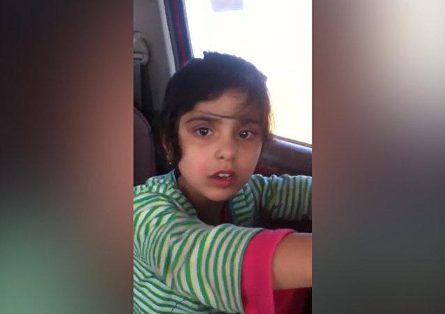 بالفيديو .. طفلة عراقية عرضها داعش للبيع كزوجة تتحدث لـسبوتنيك