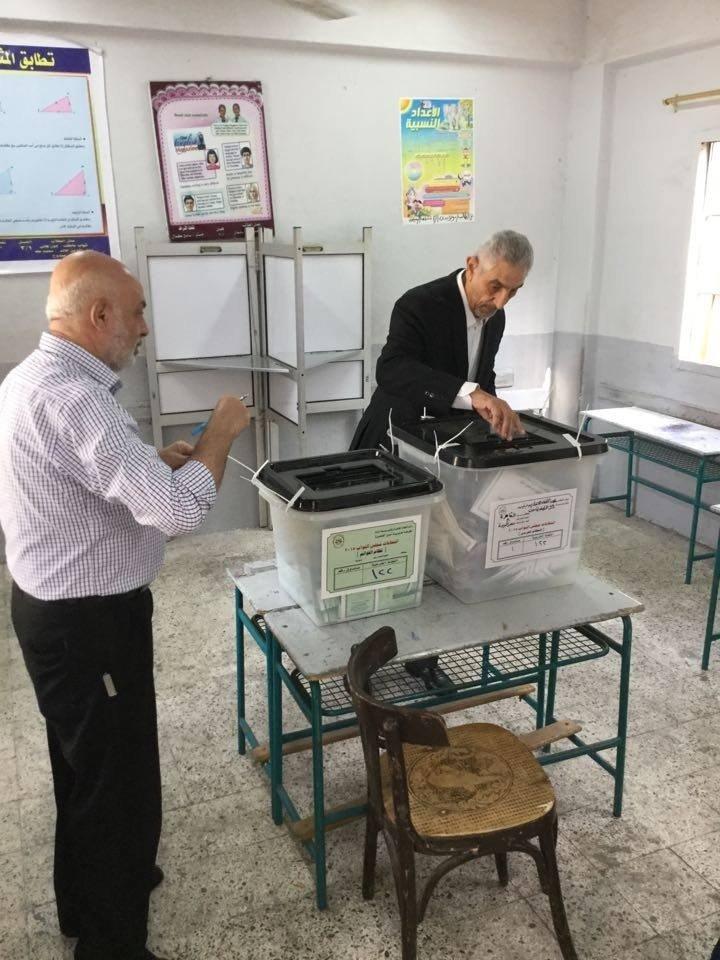 لحظة المشاركة فى الإنتخابات البرلمانية المصرية