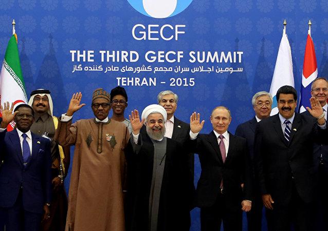 انطلاق قمة منتدى الدول المصدرة للغاز في طهران