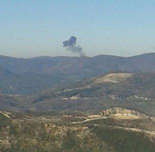 حادث طائرة عسكرية روسية في سوريا
