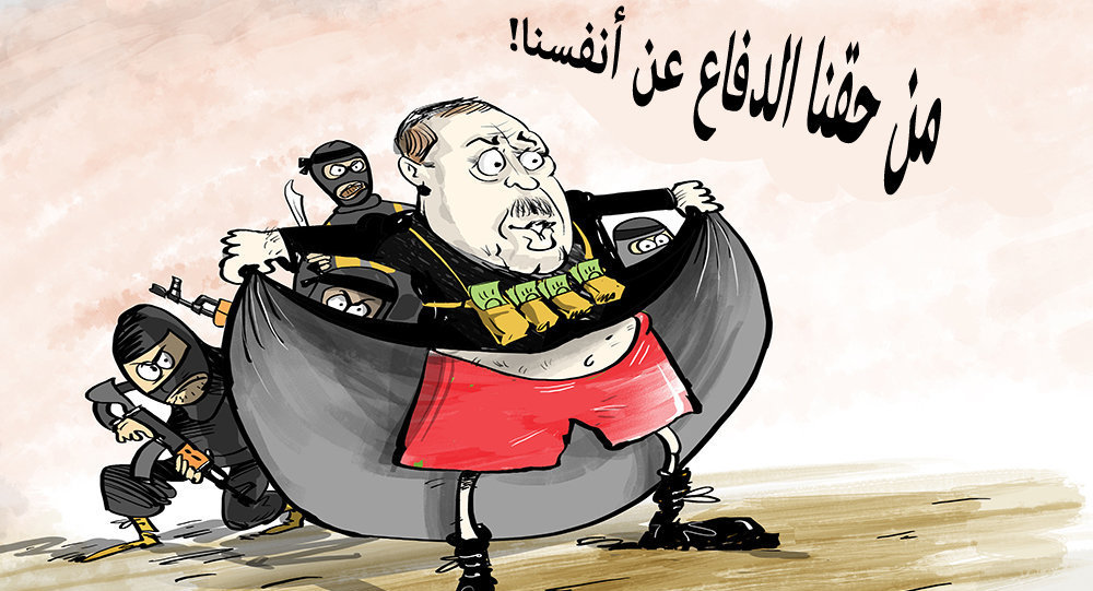 من حقه أن يدافع عن داعش