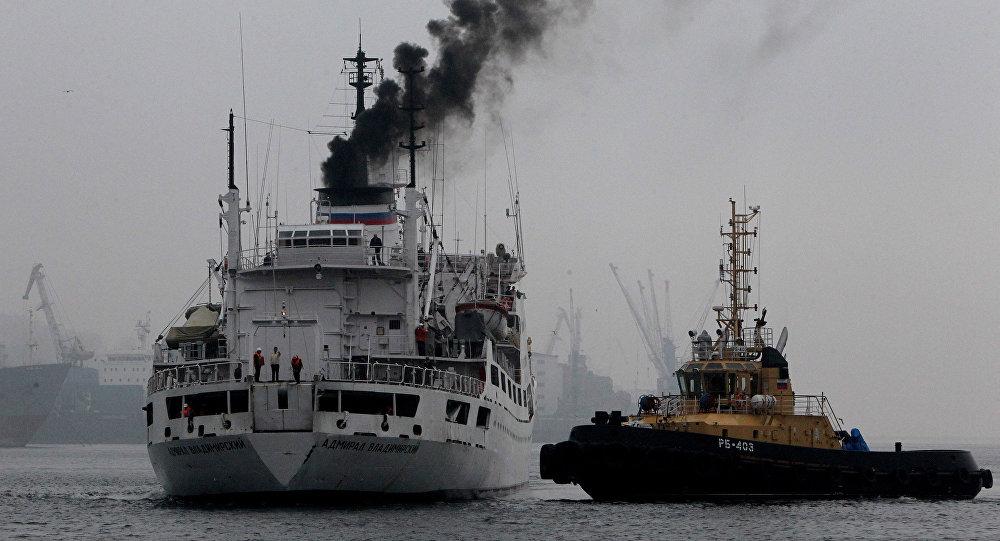 السفينة الحربية الروسية أدميرال فلاديميرسكي
