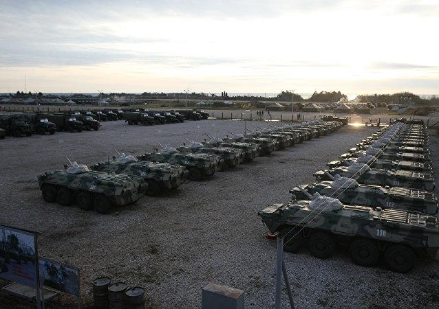 القاعدة العسكرية الروسية فى أبخازيا