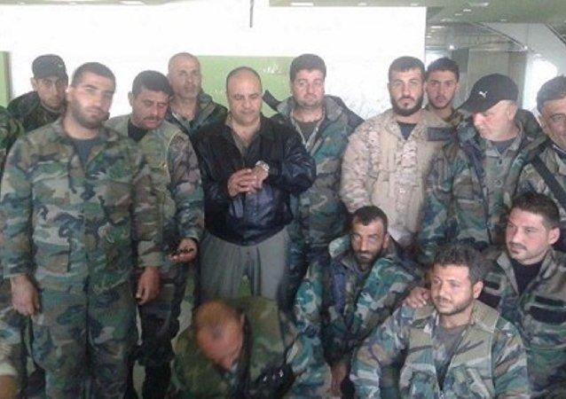 ابطال القوات الخاصة السورية