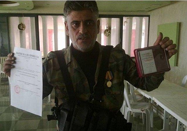 أحد أبطال القوات الخاصة السورية