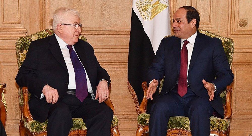 رئيسا مصر والعراق