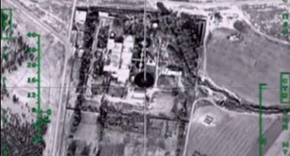 ضربات المقاتلات الروسية للنفط الداعشى