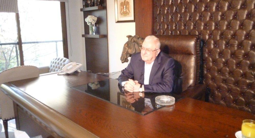 جورج حسواني رجل الأعمال السوري ومدير شركة هيسكو
