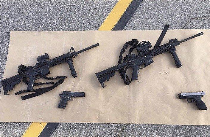 الأسلحة التي نفذ بها الهجوم