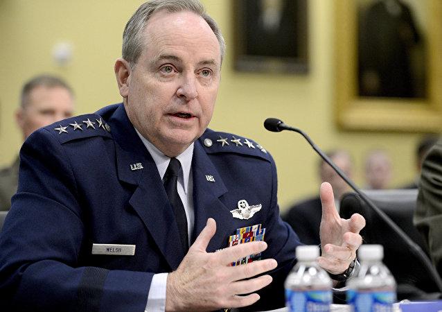 رئيس أركان القوات الجوية الأمريكية الجنرال مارك ويلش