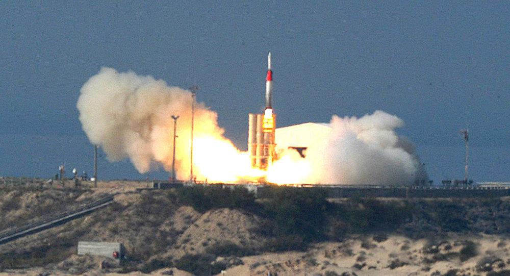 صاروخ اعتراضي إسرائيلي