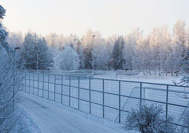 الحدود الروسية الفنلندية