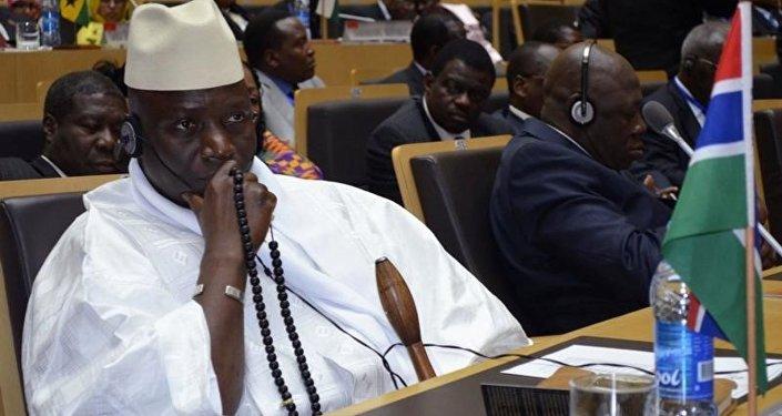 يحيى جامع رئيس غامبيا