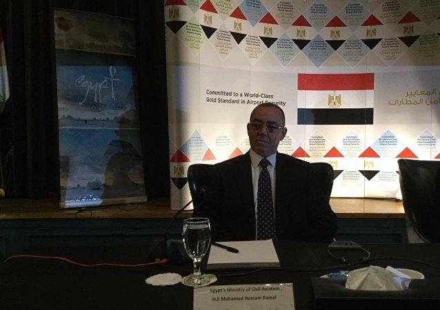 وزير الطيران المصري حسام كمال