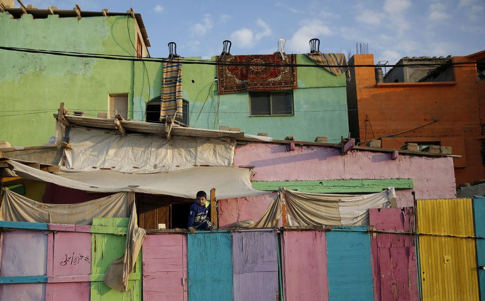 غزة بريشة وألوان