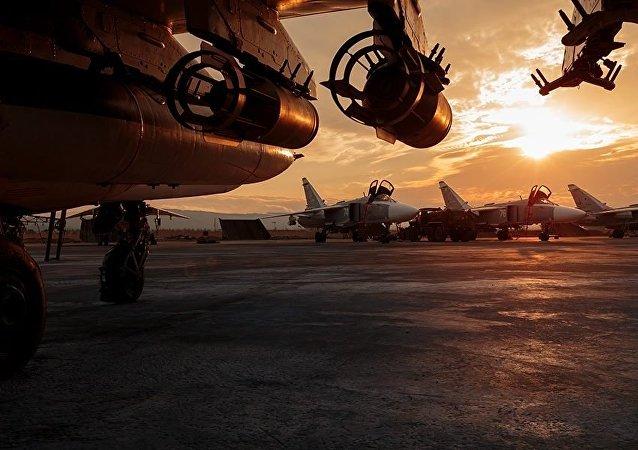 الحياة اليومية للقوات الجوية الفضائية الروسية في حميميم