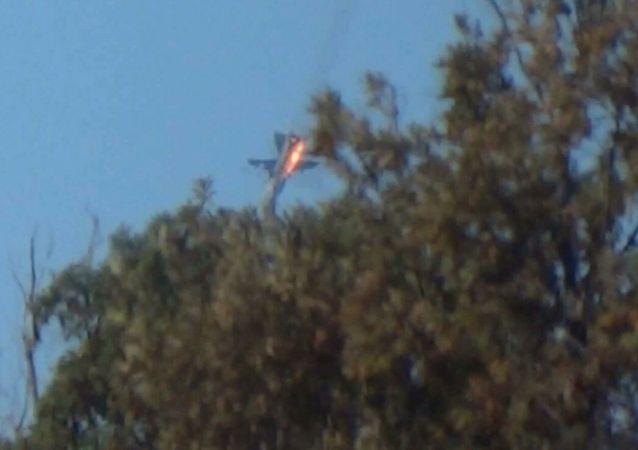لحظة سقوط سو - 24
