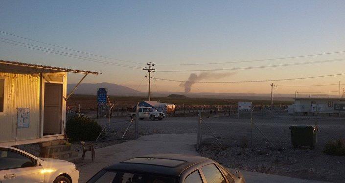معسكر زلكان بشمال العراق