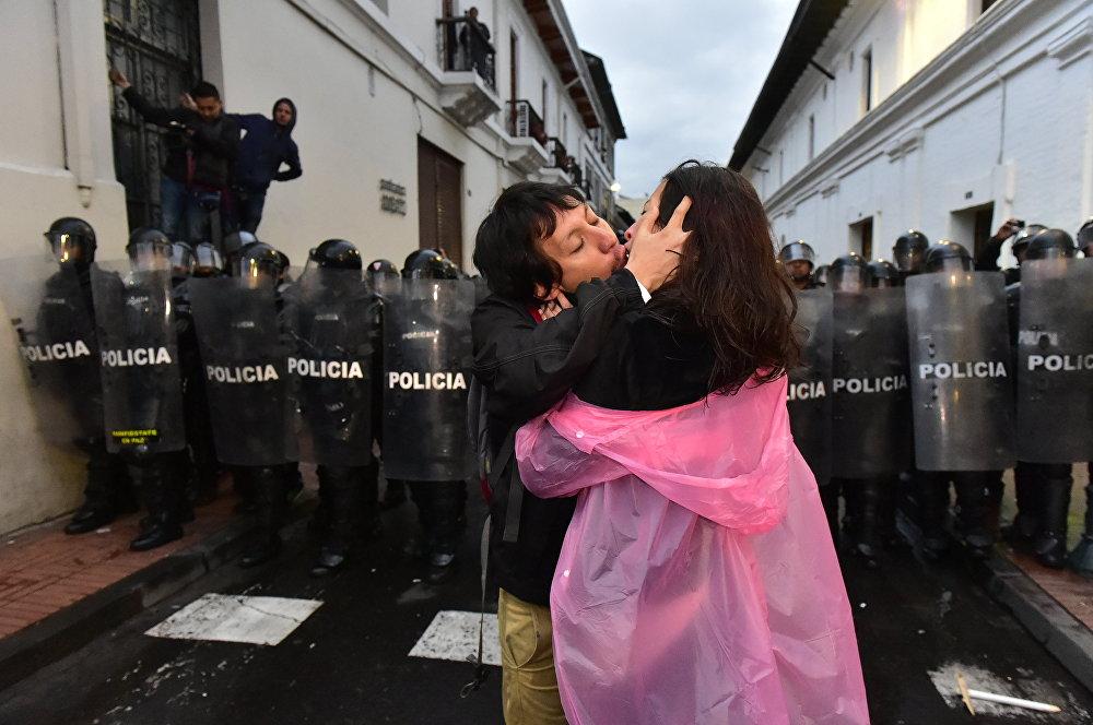 القبلات الأكثر شهرة في عام 2015