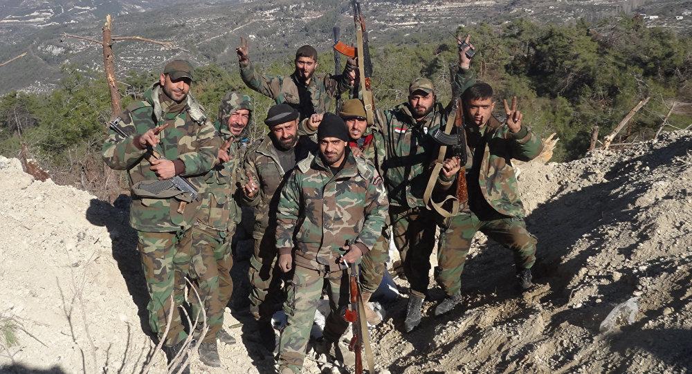 Image result for صور لسيطرة الجيش السوري في ريف اللاذقية
