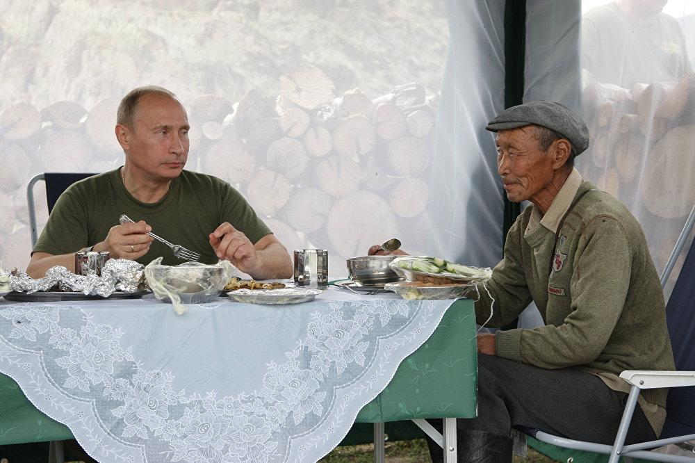 وجبات طعام فلاديمير بوتين