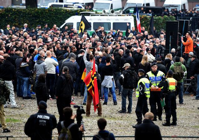 مظاهرة في كولونيا