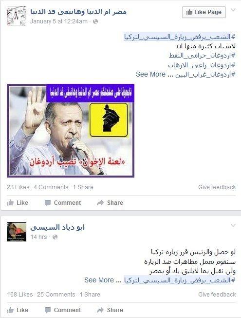 الشعب المصري يرفض