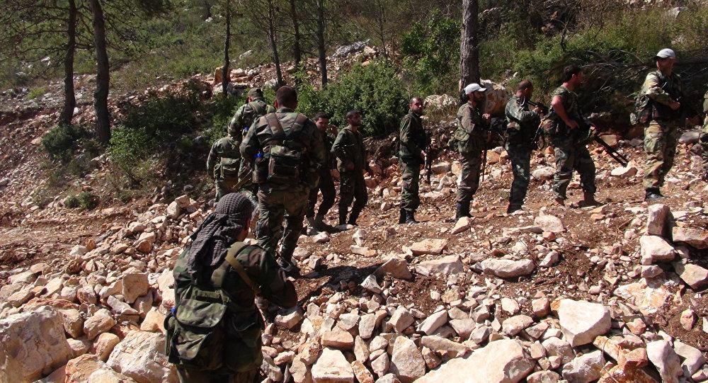 الجيش السوري قرب سلمى