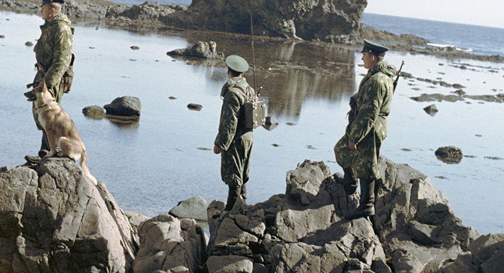 حرس الحدود في جزر الكوريل
