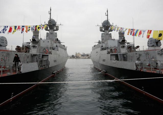 ميناء سيفاستوبول في القرم