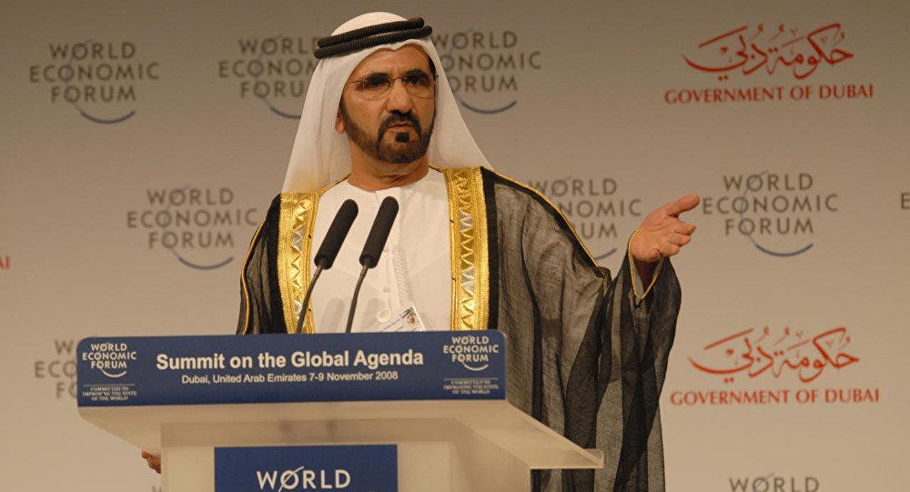 الشيخ محمد بن راشد آل مكتوم، نائب رئيس دولة الإمارات رئيس مجلس الوزراء حاكم دبي