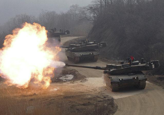 دبابة الفهد الأسود الكورية الجنوبية