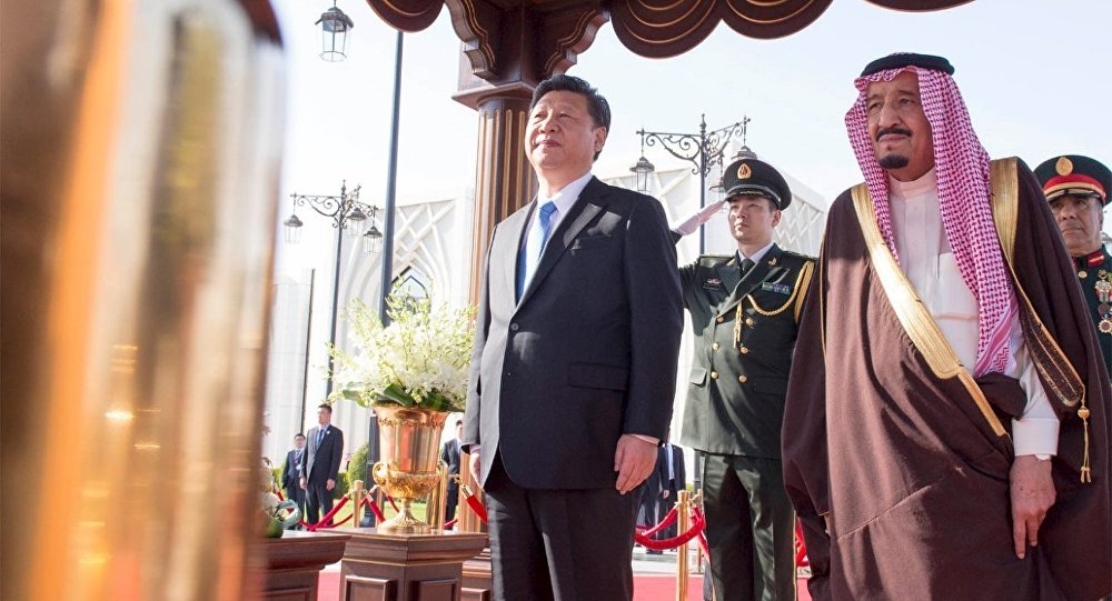 الرئيس الصيني يصل الرياض