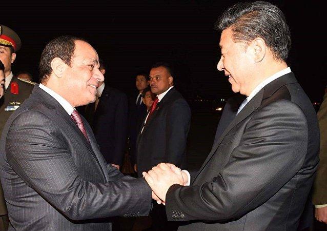 زيارة الرئيس الصيني إلى مصر