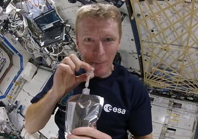 قهوة على الطريقة الفضائية