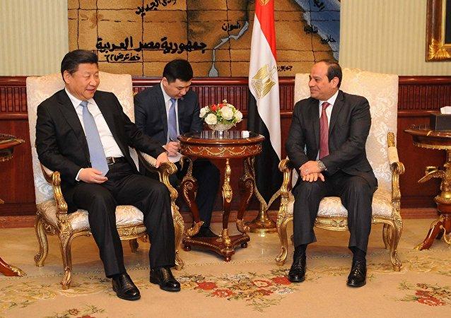 العلاقات المصرية الصينية