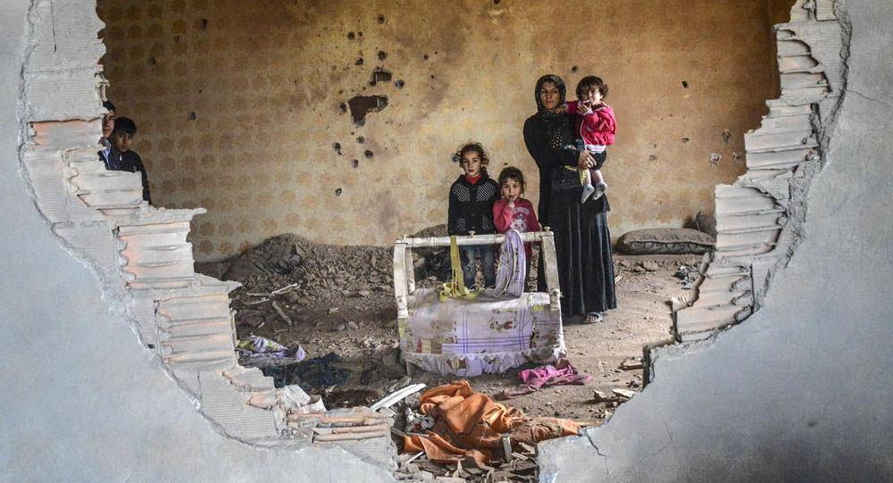 بيت مدمر بتركيا