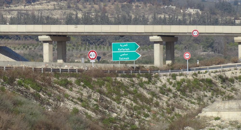 طريق حلب