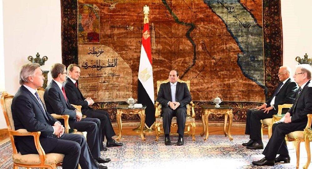 نارشكين يفتتح معرض القاهرة الدولي للكتاب