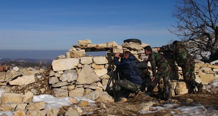 وحدات الجيش السوري في ريف اللاذقية