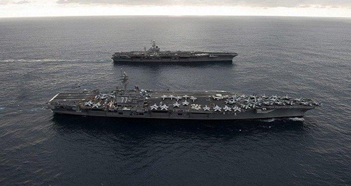 حاملة الطائرات الأمريكية هاري ترومان