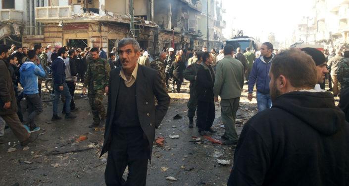 تفجير إرهابي في سوريا