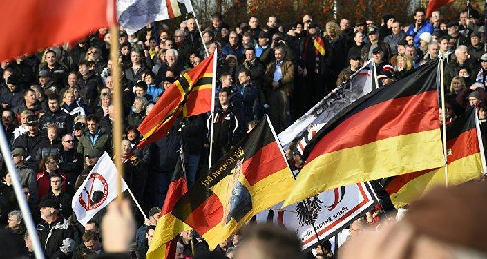 مظاهرة في ألمانيا