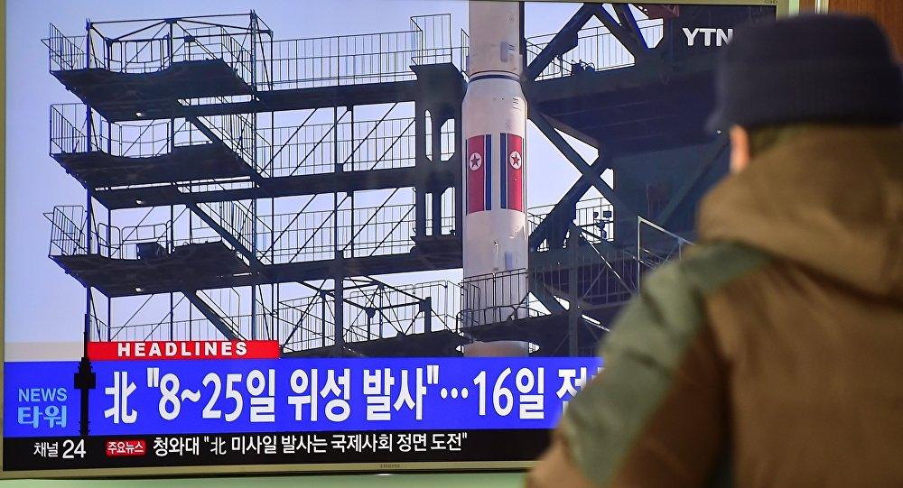 إطلاق صاروخ بالستي من قبل كوريا الشمالية