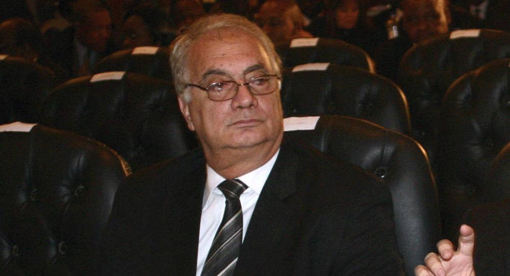 الرئيس الأسبق للاتحاد المصري لكرة القدم، سمير زاهر