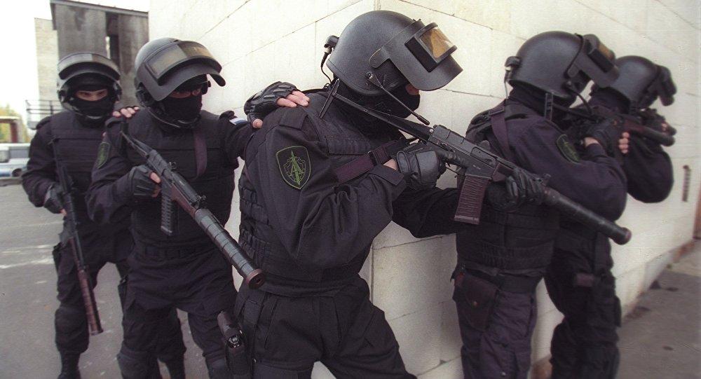 القوات الروسية ألفا