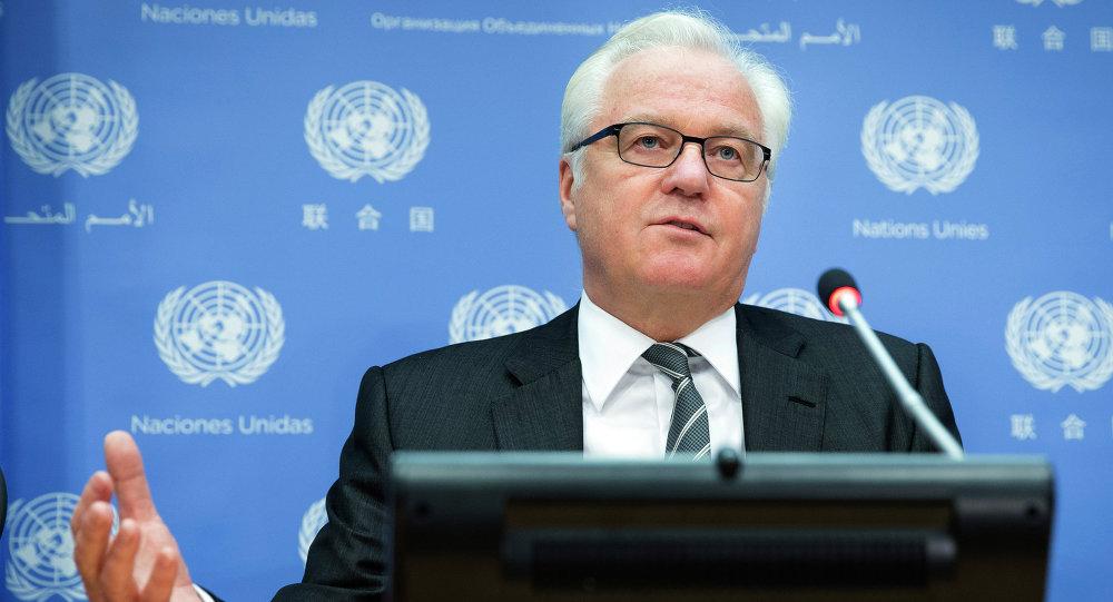 مندوب روسيا الدائم في الأمم المتحدة فيتالي تشوركين