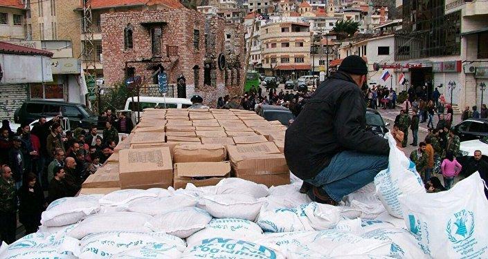 مساعدات من الحليف الروسي إلى مطار حميمم في اللاذقية