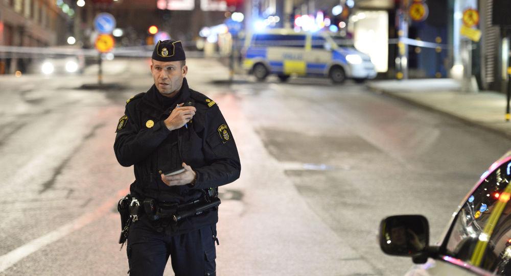 شرطي سويدي