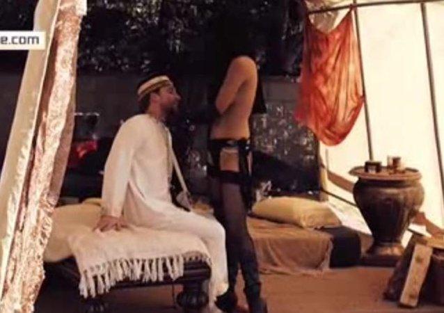 أفلام إباحية باستخدام الأساليب الداعشية